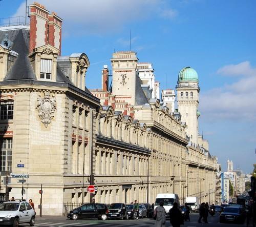 Bâtiments de la faculté des sciences de la Sorbonne