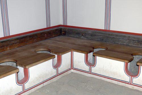 Des latrines modernes...