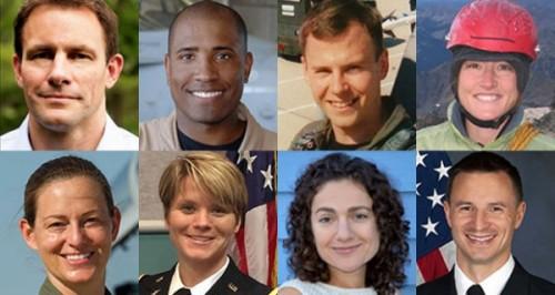 Les 8 nouvelles recrues et futurs astronautes de la NASA (Source Nasa.gov)