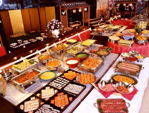Image non contractuelle nous déclinons toute responsabilité si notre buffet est moins impressionnant